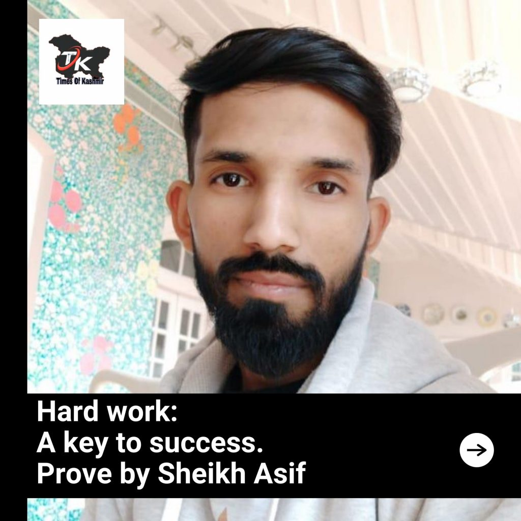 Sheikh Asif Times of kashmir Interview