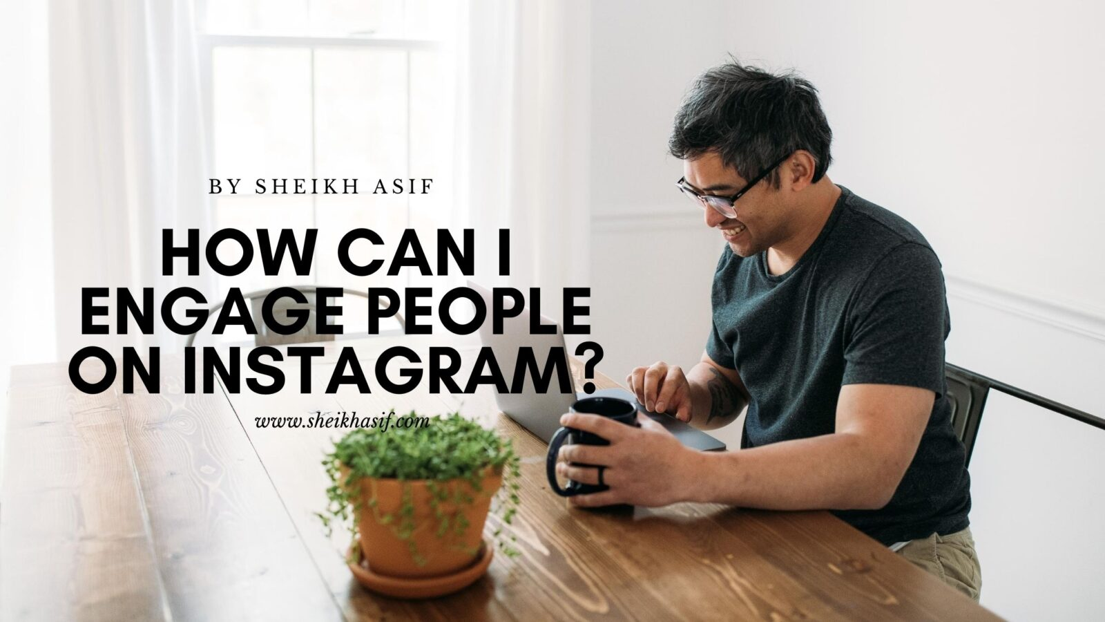 How can I engage people on Instagram?